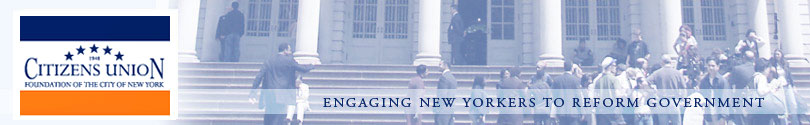 Citizens Union: Engaging New Yorkers to Reform Government